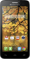 T-Mobile Prepaid - Alcatel ONETOUCH Fierce 4G No-Contract Cell Phone - Silver
