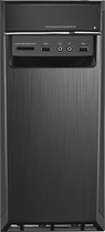 Lenovo - H50 Desktop - Intel Core i3 - 8GB Memory - 1TB Hard Drive - Black