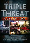 Triple Threat Collection: Damage/marine 2/in The Name Of The King [3 Discs] (dvd) 19154285