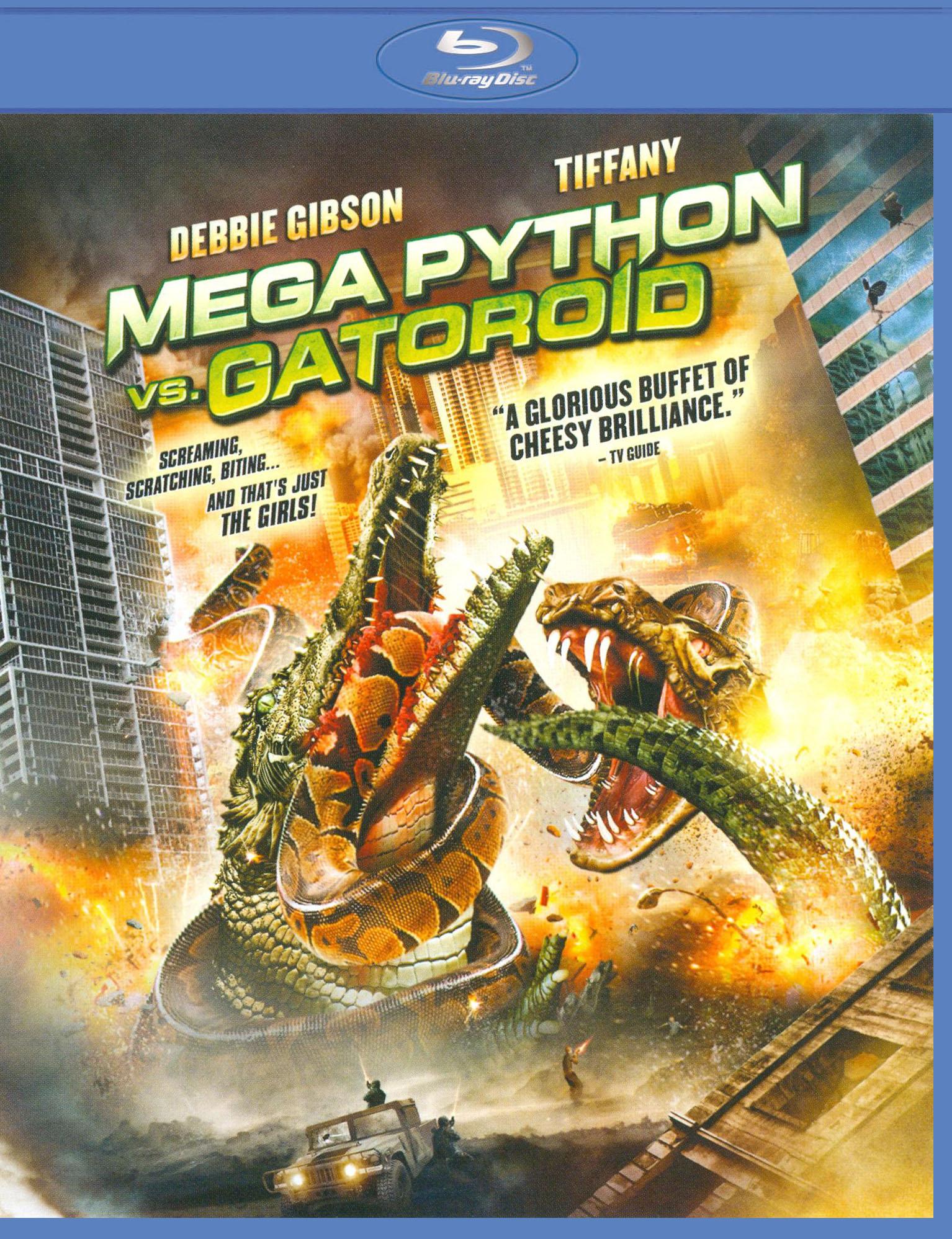 Mega Python Vs. Gatoroid [blu-ray] 19190783