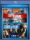 Spy Game/State of Play [2 Discs] [Blu-ray] (Blu-ray Disc) (Enhanced Widescreen for 16x9 TV) (Eng/Fre/Spa)