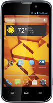 Boost Mobile - Warp 4G LTE No-Contract Cell Phone - Black