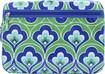 Studio C - Cabana Collection Laptop Sleeve - Blue/Green/White