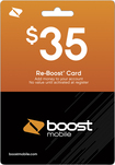 Boost Mobile - $35 Re-Boost Card - Multi