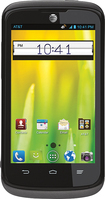 AT&T GoPhone - ZTE Radiant No-Contract Cell Phone - Black
