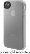 Belkin - Grip Vue Skin for iPhone 4 - Clear