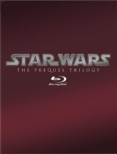 Star Wars Prequel Trilogy (Episodes I-III) - Blu-ray - Best Buy 1950206