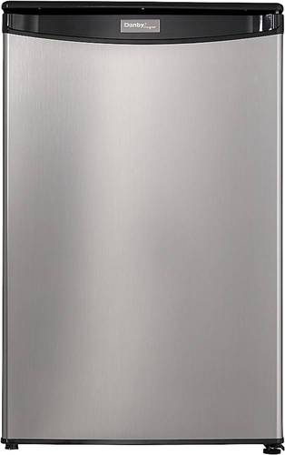 Danby - Designer 4.4 Cu. Ft. Compact Refrigerator - Black