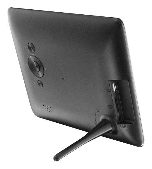 aluratek 8 lcd digital photo frame black adpf08sf best buy