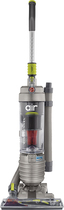 Hoover - WindTunnel Air HEPA Bagless Upright Vacuum - Silver/Green