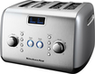 KitchenAid - 4-Slice Wide-Slot Toaster - Silver