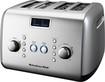 KitchenAid - 4-Slice Wide-Slot Toaster - Silver