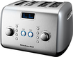 KitchenAid - 4-Slice Wide-Slot Toaster - Silver Metallic