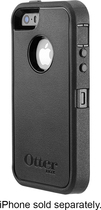 OtterBox - Defender Series Case for Apple® iPhone® 5 and 5s - Black