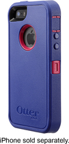 OtterBox - Defender Series Case for Apple® iPhone® 5 and 5s - Berry