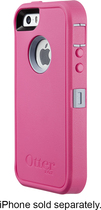 OtterBox - Defender Series Case for Apple® iPhone® 5 and 5s - Wild Orchid