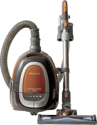 BISSELL - HardFloor Expert Deluxe Bagless Canister Vacuum - Copper