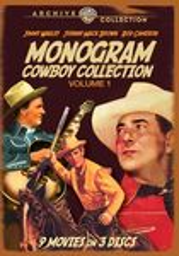 Monogram Cowboy Collection, Vol. 1 [4 Discs] (dvd) 19813752
