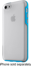 Belkin - Grip Candy Case for Apple® iPhone® 5c - Clear/Topaz
