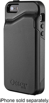 OtterBox - Commuter Wallet Case for Apple® iPhone® 5 and 5s - Black