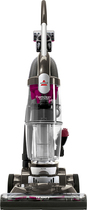 BISSELL - OptiClean Multicyclonic Bagless Upright Vacuum - Refined Bronze/Magenta