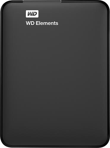 Wd - Elements 2tb External Usb 3.0/2.0 Portable Hard Drive -