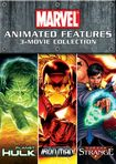 Marvel Animated Features 3-movie Collection [2 Discs] (dvd) 19972929