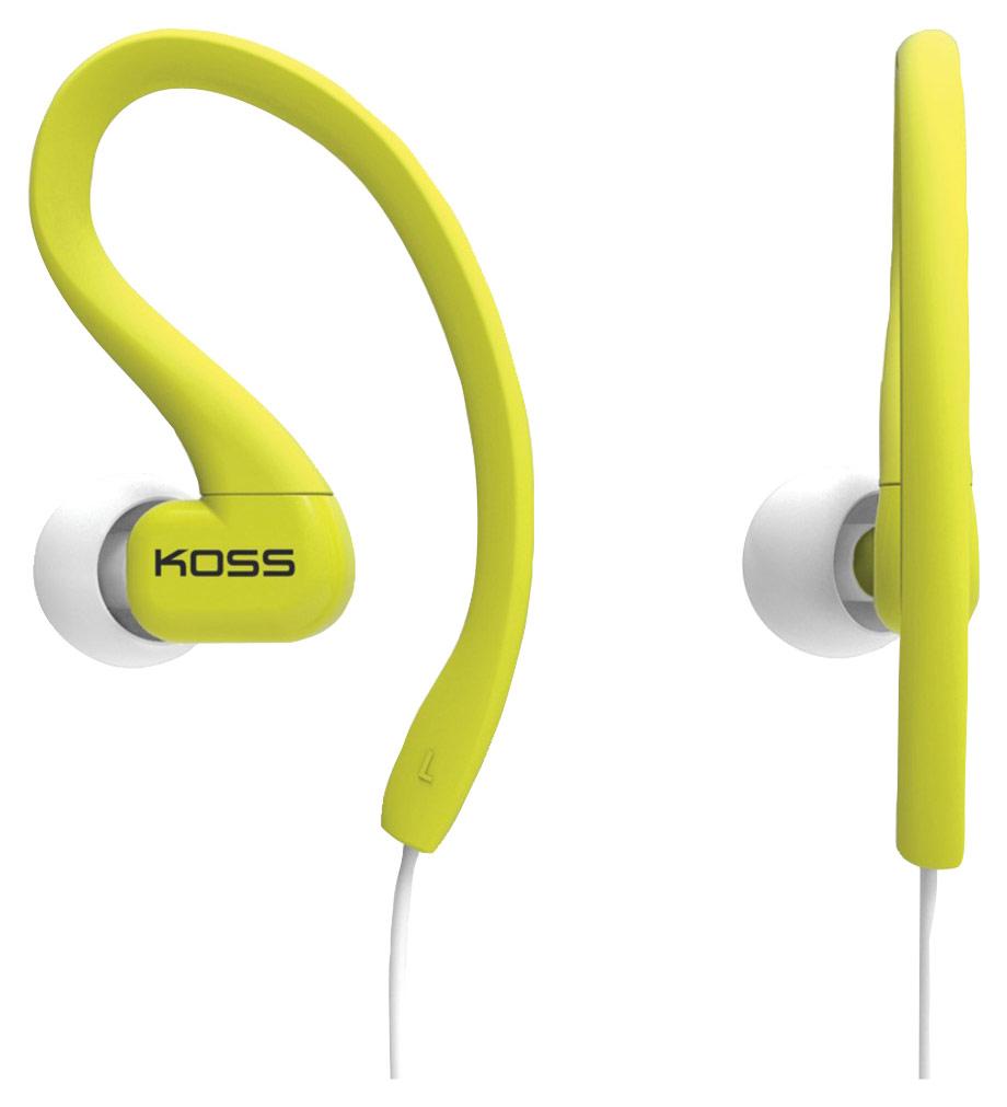 Koss - KSC32 Fitclips In-Ear Headphones - Lime