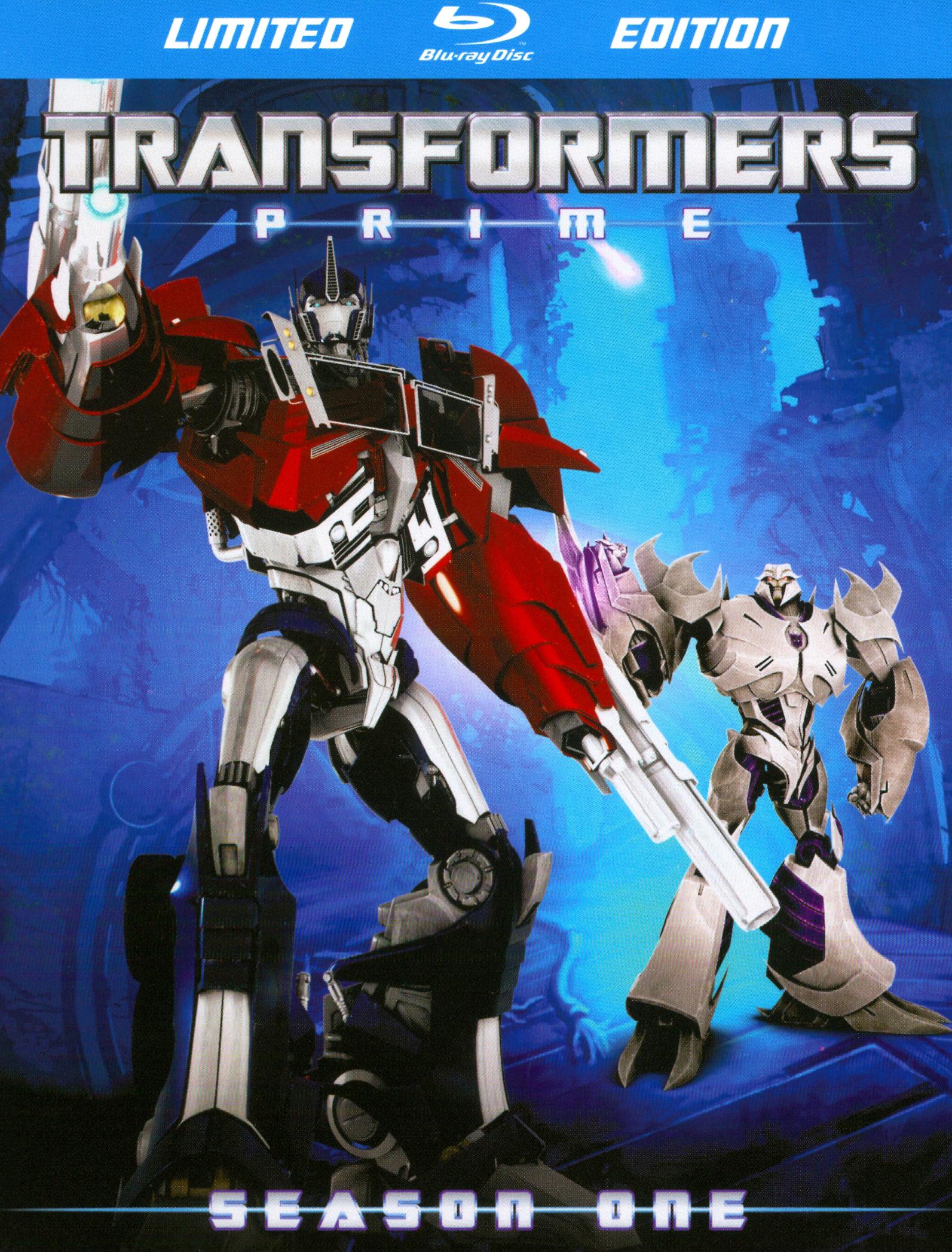 Transformers Prime: Season One [4 Discs] [blu-ray] 19987615