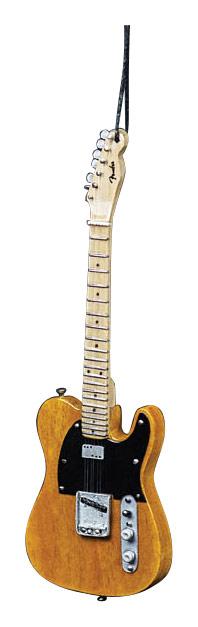 "Axe Heaven - 6"" Fender '50s Blonde Telecaster Guitar Replica Holiday Ornament - Brown/Black"