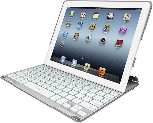 Zaggkeys - Profolio+ Keyboard Case For Apple Ipad 2, Ipad 3rd Generation And Ipad With Retina - White