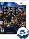 Rock Band 3 - Pre-owned - Nintendo Wii