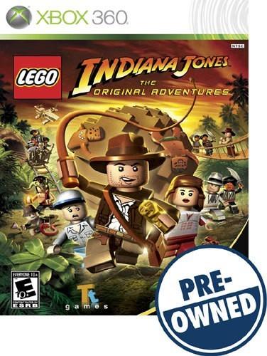 Lego Indiana Jones: The Original Adventures - PRE-Owned - Xbox 360