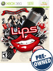 Lips: Number One Hits — PRE-OWNED - Xbox 360