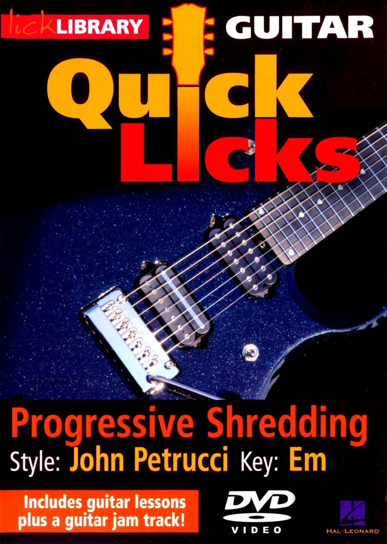 Lick Library: Guitar Quick Licks - Progressive Shredding (dvd) 20139151