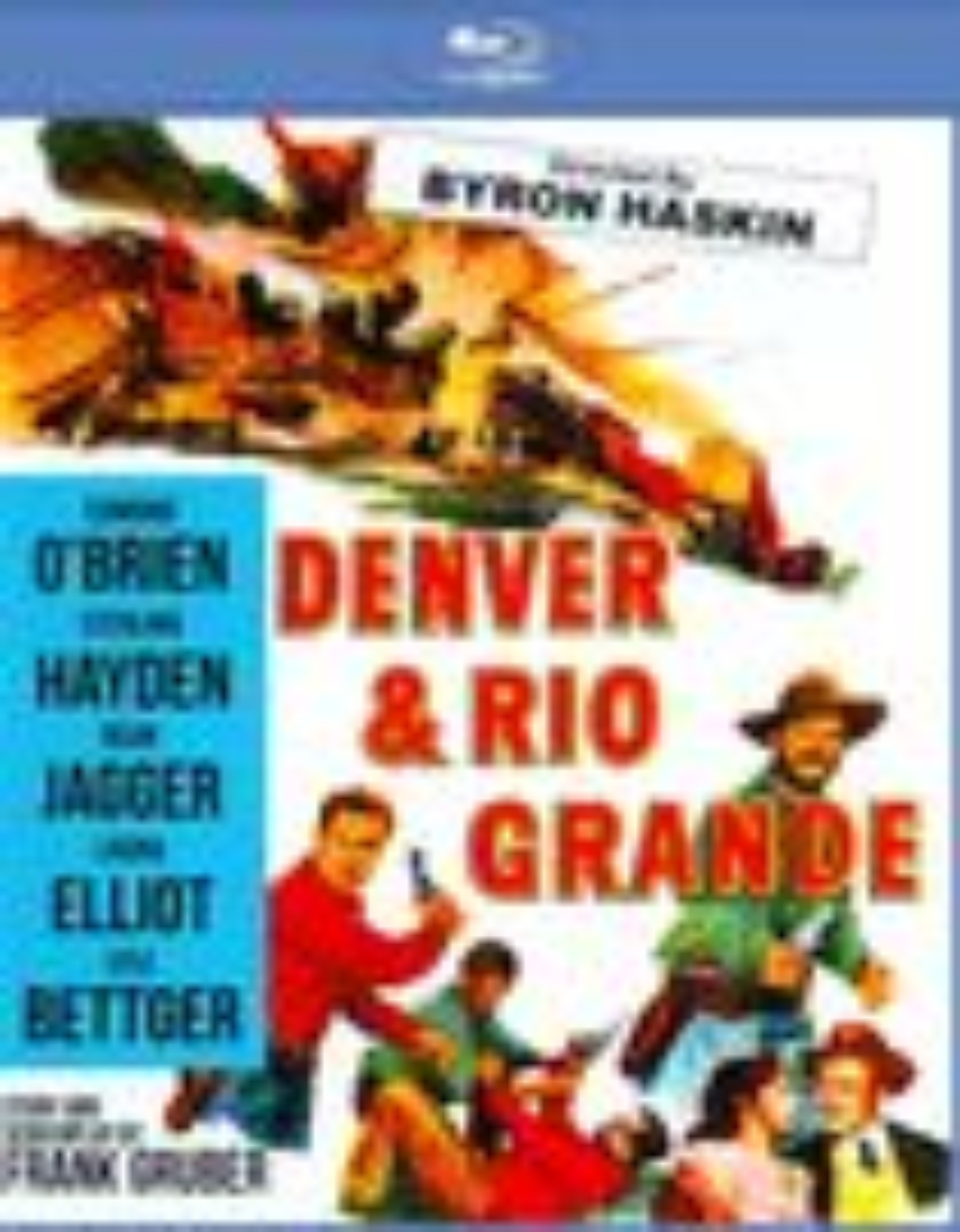 Denver & Rio Grande [blu-ray] 20143966