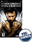 PRE-OWNED X-MEN ORIGINS: WOLVERINE 2016184 2016184