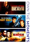 Marked For Death/navy Seals/the Siege [3 Discs] (dvd) 20174562