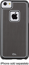 Case-Mate - Sleek Case for Apple® iPhone® 5c - Silver