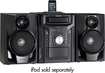 Sharp - 240W 5-Disc Compact Stereo/2-Way Speaker System - Black