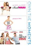 Bride Wars/27 Dresses/all About Steve (dvd) 20291421
