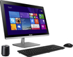 """Asus - 23"""" Touch-Screen All-In-One - Intel Core i5 - 8GB Memory - 2TB Hard Drive - Black"""