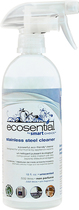 Ecosential - 18-Oz. Stainless-Steel Cleaner - White