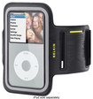 Belkin - Dual-Fit Armband for Apple® iPod® classic - Black