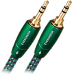 AudioQuest - Evergreen 3.3' 3.5mm-to-3.5mm Interconnect Cable - Black/Green
