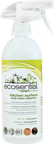 Ecosential - 18-Oz. Kitchen Surface and Oven Cleaner - White