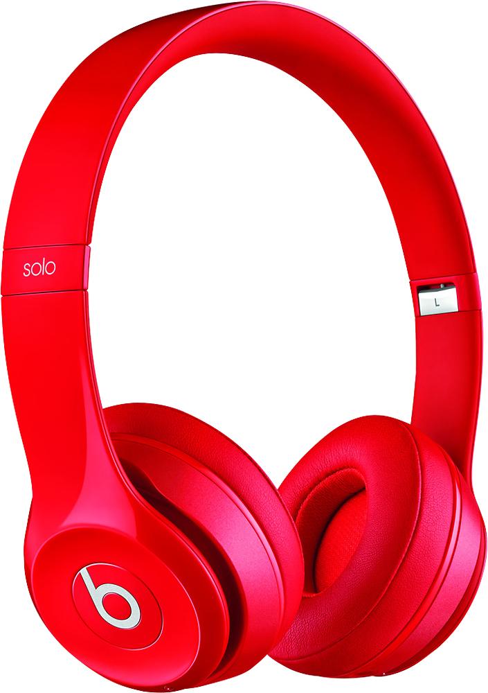 Beats by Dr. Dre - Beats Solo 2 On-Ear Wireless Headphones - Red