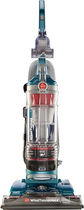 Hoover - WindTunnel Max HEPA Bagless Upright Vacuum - Coral Blue Metallic