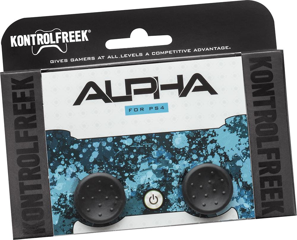 KontrolFreek - Alpha Controller Pads for PlayStation 4 - Black
