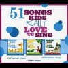 51 Songs Kids Really Love To Sing - CD
